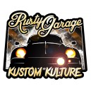 Sticker tony dubois rusty garage kustom kulture cox rats