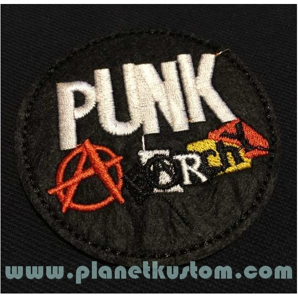 ANARCHY  PATCH ECUSSON THERMOCOLLANT  ROCK PUNK