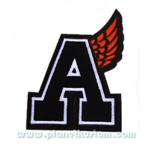 Patch ecusson thermocollant angeles wing anges aile