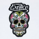 Patch ecusson skull dia de la muerte day of dead tequila exotico