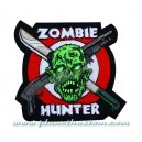 Patch ecusson thermocollant zombie hunter armes killer monster