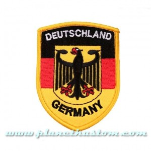 Patch ecusson deutshland german army armée allemande aigle drapeau