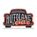Patch ecusson thermocollant Autolane & cycle garage auto moto