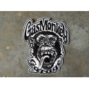 Patch ecusson tete singe gasmonkey garage usa kustom hot rod