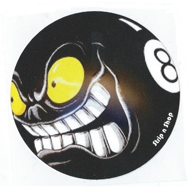 Hot Un Stock >> Sticker Strip'n'Shop eight hate ball SNS 8 ball