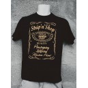 Tee Shirt Homme Strip'n'Shop noir