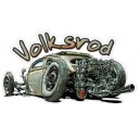 Sticker Bigdaddyjo volksrod rat Rod cox BIG32