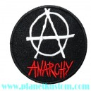Patch Anarchy punk music round