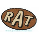 Sticker rat logo patina hoodride rust rusty used rats 29