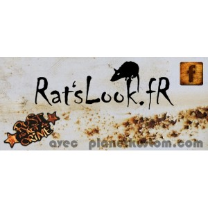 Sticker ratslook.fr facebook jaune rust is not a crime grand rats look fr 8