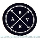 Patch ecusson thermocollant SAVE secoures