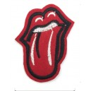 Patch ecusson thermocollant rolling stones rock band old stock