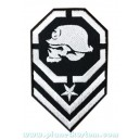 Patch ecusson skull german army tete de mort armée allemande