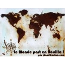 Sticker planet kustom le monde part en rouille rust world rats