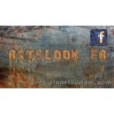 Sticker ratslook.fr facebook page rusty planet kustom rats look fr 9