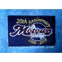 Patch ecusson motown 20th anniversary 1998 2018 detroit music label