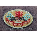 Patch ecusson von Dutch King of the race lion damier gold old stock