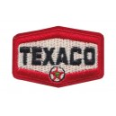 Patch ecusson thermocollant texaco rétro motor oil racing
