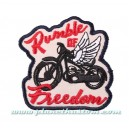 Patch ecusson thermocollant rumble of freedom grondement de liberté