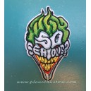 Patch ecusson thermocollant DC Comics the joker why so serious BD
